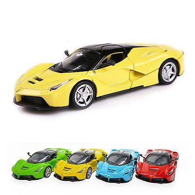1 Pc 1:32 Alloy Diecast Sound & Light Collection Gift La Ferrari Model Cars Toy