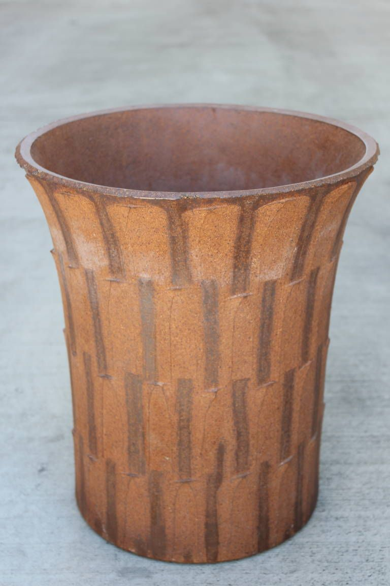 David Cressey Pot | From a unique collection of antique and modern planters and jardinieres at https://www.1stdibs.com/furniture/building-garden/planters-jardinieres/