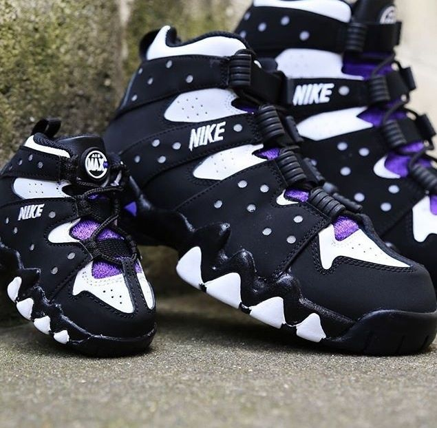 ... cheap trainers 4384f ba884 Nike Air Max CB 94 Charles Barkley Purple OG Toddler  Pre school released 2019 ...