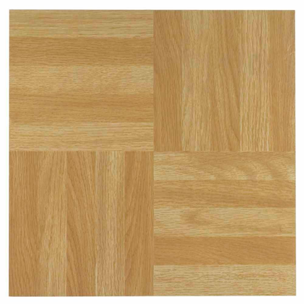 Tivoli Light Oak 12 In X 12 In Peel And Stick Four Finger Parquet Vinyl Tile 45 Sq Ft Case Four Finger Square Parquet Vinyl Flooring Tile Floor Flooring