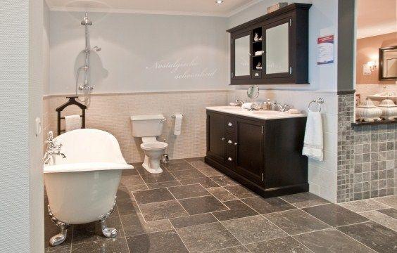 landelijke badkamer n02 | db keukens | badkamer | pinterest, Badkamer
