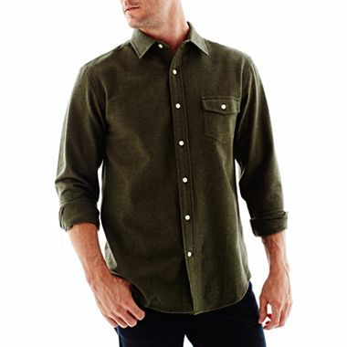 St. John's Bay® Chamois Shirt - jcpenney | Retro G ...