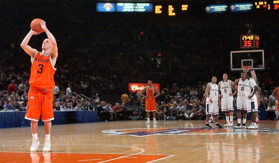 Gerry Mcnamara And Syracuse Basketball S 2006 Big East Tournament Run Syracuse Basketball Tournaments Syracuse