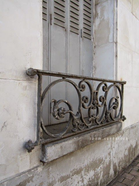 French Style Always Better Use The Wrought Iron To Side Of Patio
