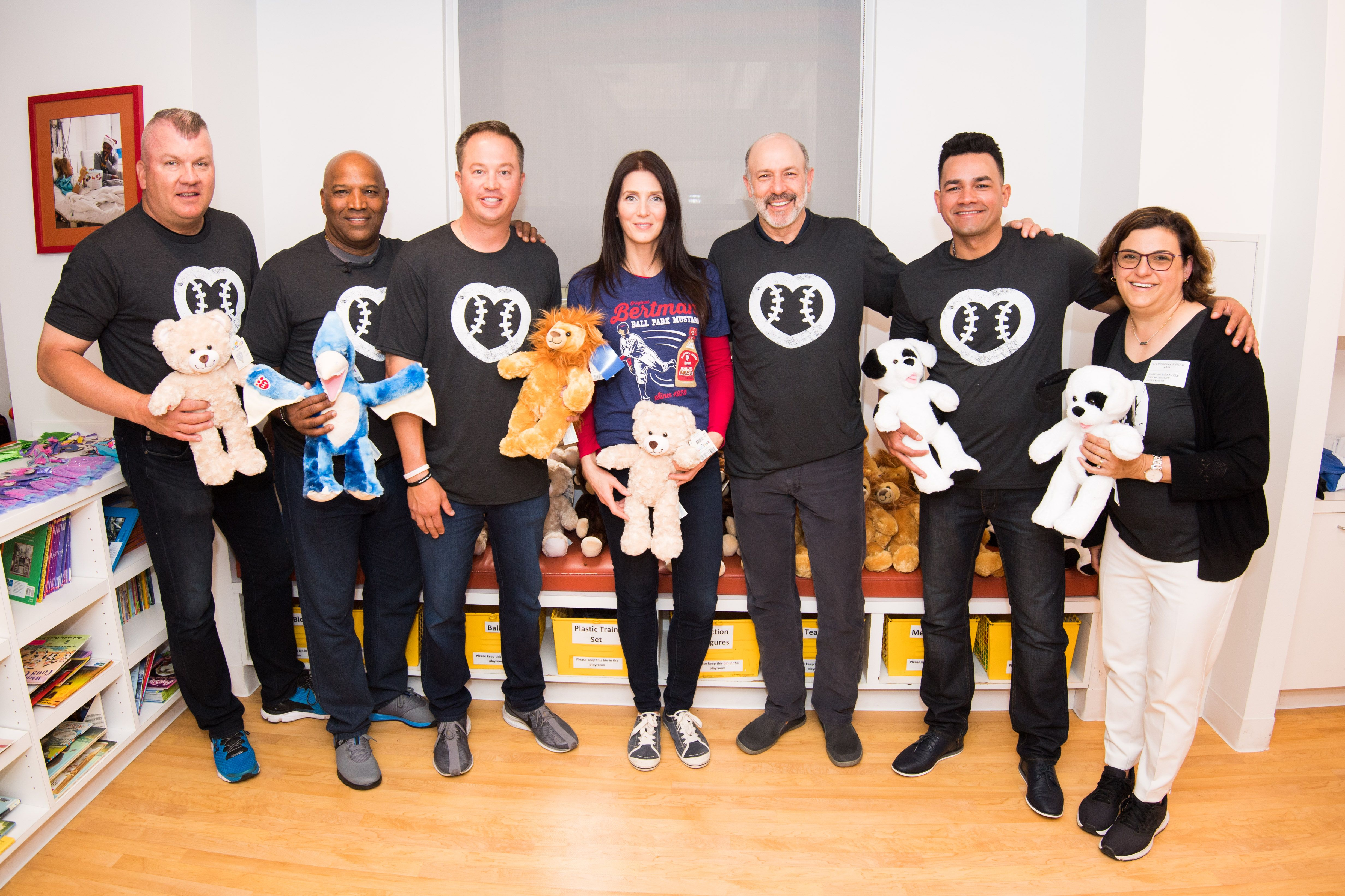 Last Month We Partnered With Mlb Auctions To Help Raise Money For Umps Care Charities Michael And Gayle From The Bertman Original Cleveland Clinic Mlb At Risk Youth