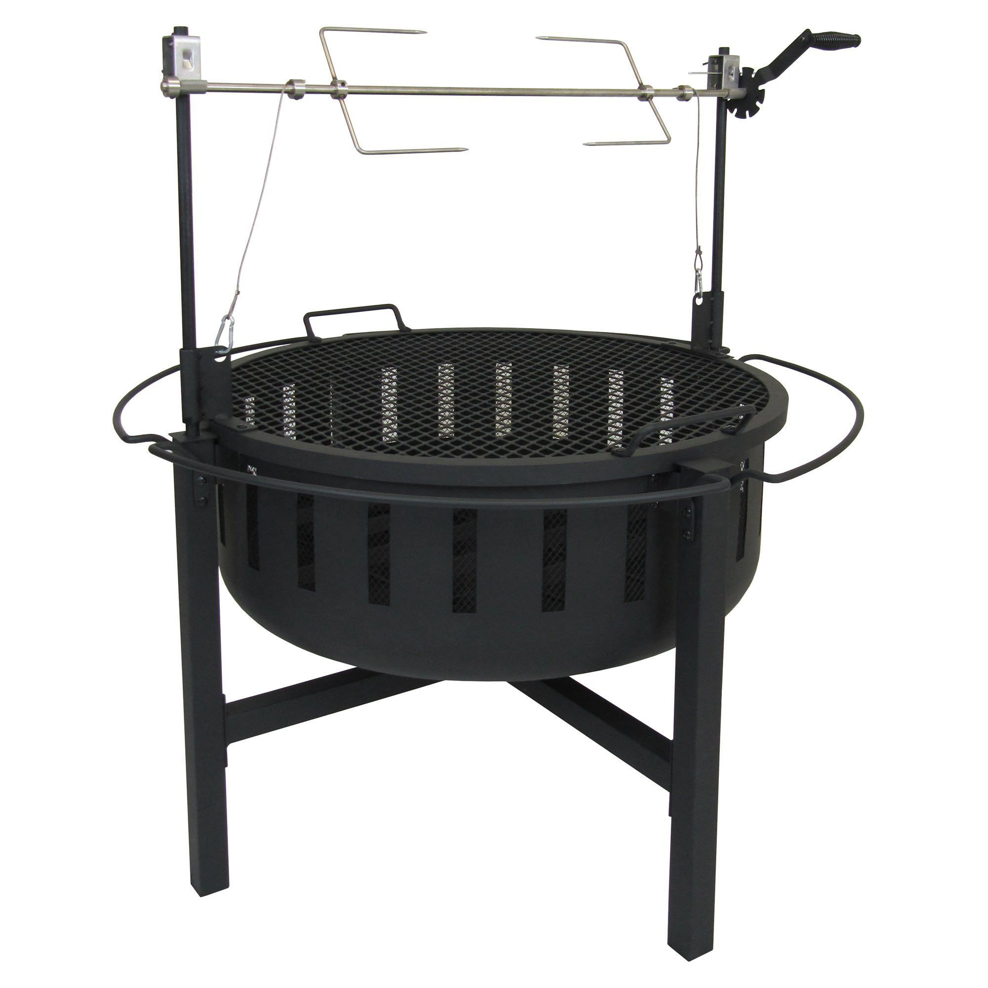 Fire Rock Rotisserie and Grill Fire Pit
