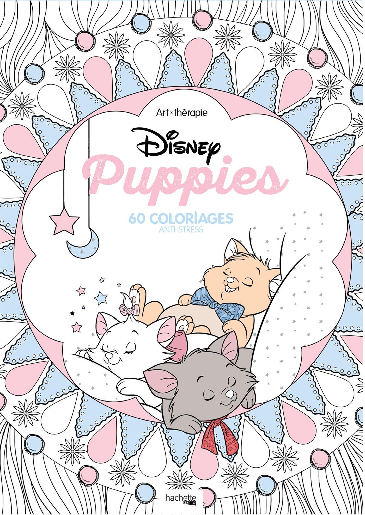 Disney « Puppies »  Coloring books, Disney colors, Coloring book