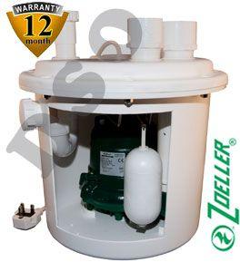 Under Sink Basement Pumping Station 25ltr 105 0011 Under Sink