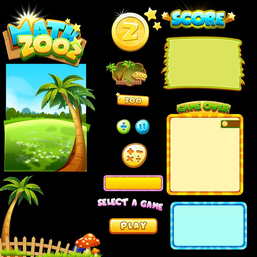 game Ui by jyz83.deviantart.com on @deviantART