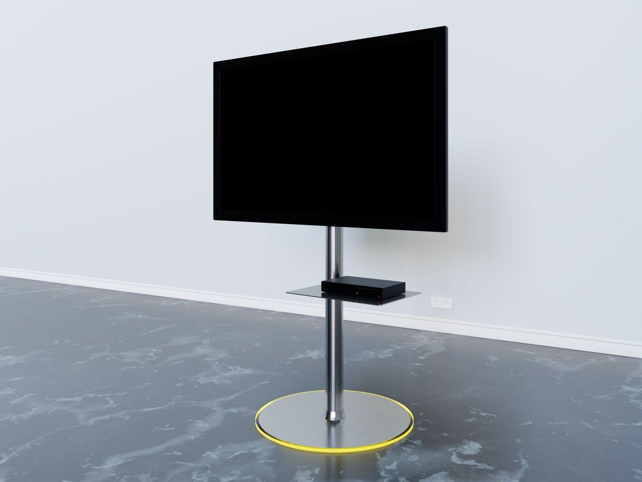 Tv Stander Mit Rgb Led Beleuchtung Im Standfuss Led Beleuchtung Rgb Led Beleuchtung