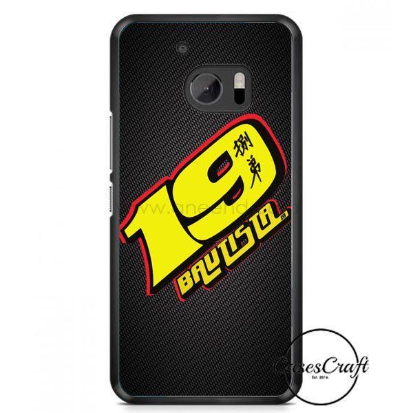 Alvaro Bautista 19 Motogp Honda Gresini Go Fun Team HTC One M10 Case