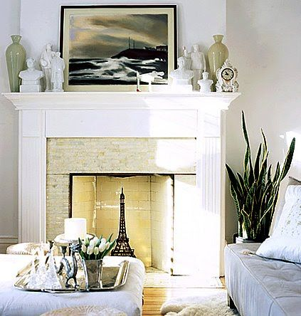 Awesome Unused Fireplace Decorating Ideas