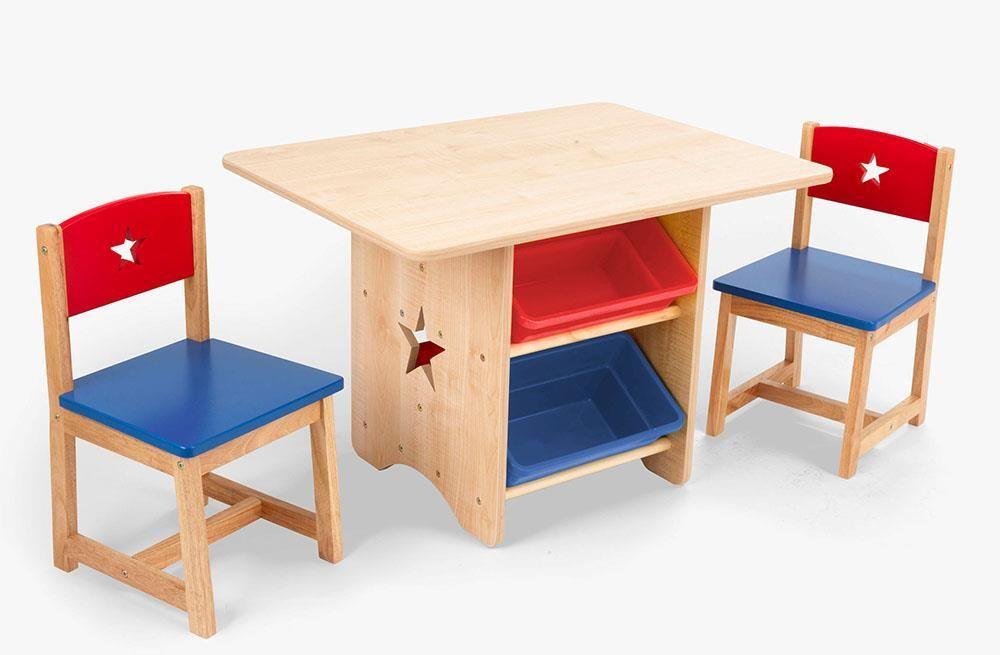 Kindertafel En Stoel : Kidkraft tafel met stoeltjes sterren deze kindertafel en stoelen