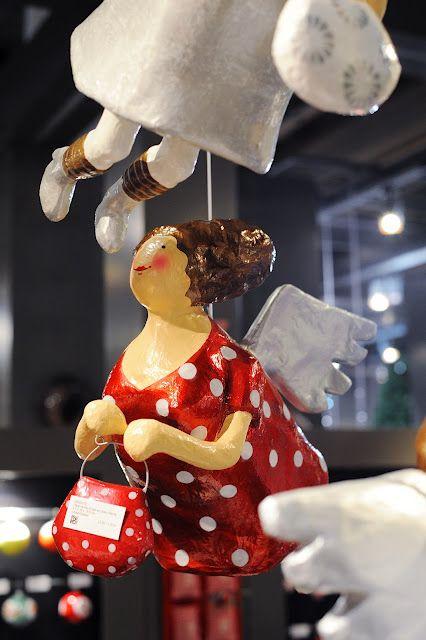 Anjinhos e cia como não tê-los na decoração natalina?! #christmasword