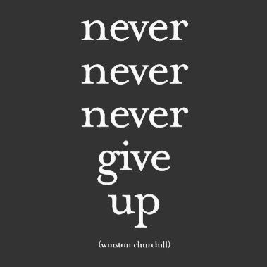 Never give up! #inspire #inspiration #quote #quotes #motivate #motivation #quoteoftheday #lifequotes #quotestoliveby #inspirational #inspired #success #wisdom #photooftheday #picoftheday #words #wordstoliveby #wisewords #workhard