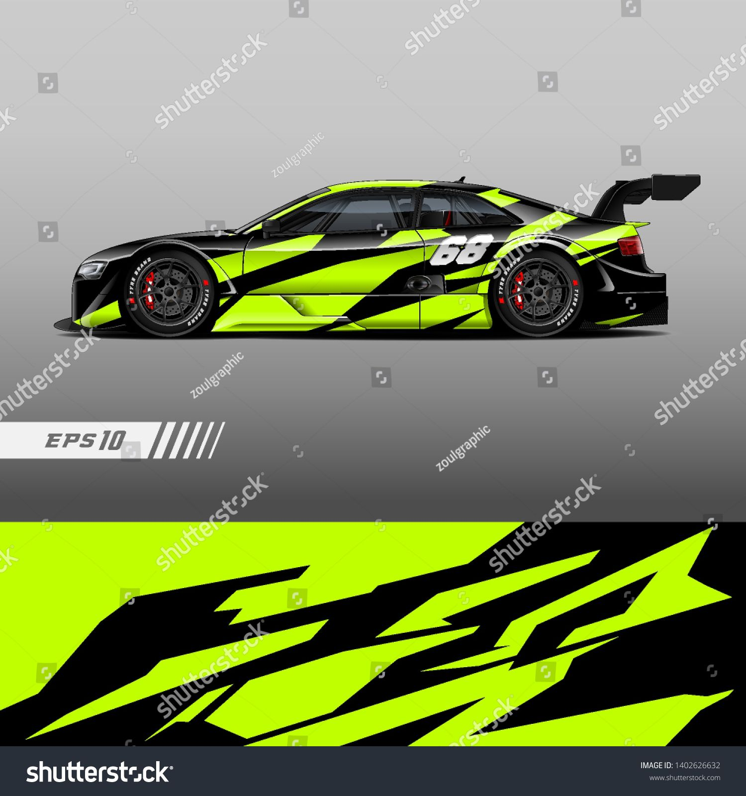 racing car wrap design vector  graphic abstract stripe racing background kit designs