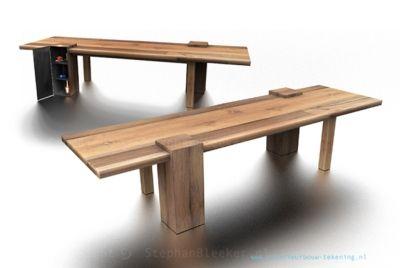 tafels uit plaatmateriaal - Google zoeken