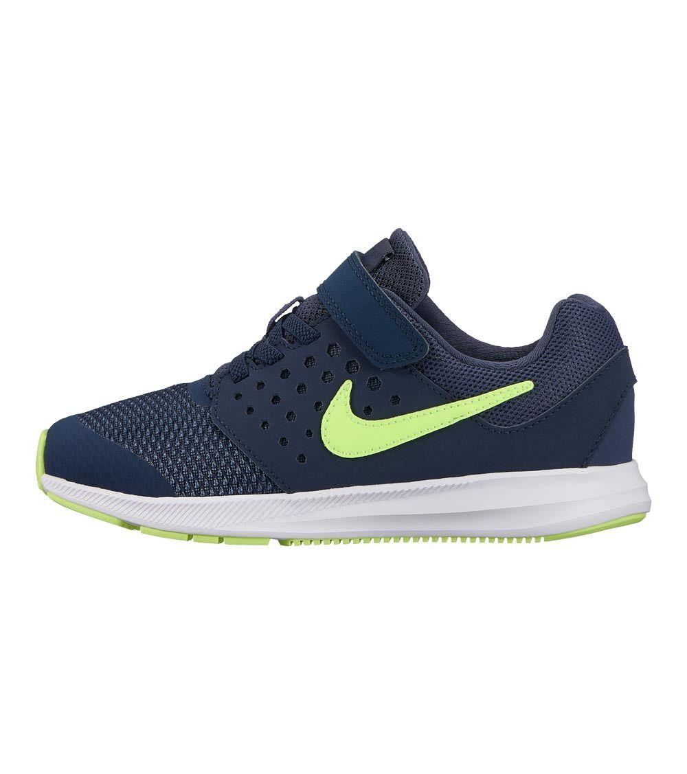 79146cf8120c6a Nike Downshifter 7 PS Kids Thunder Blue Volt Glow