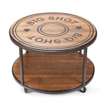 DEMDACO Big Shot Coffee Table