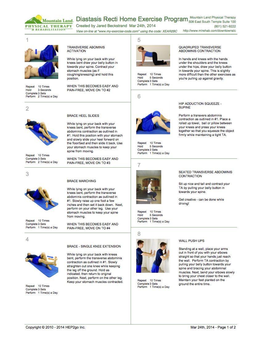 0dbb8b1faa5 How to treat diastasis recti – advice and exercises to help you ...