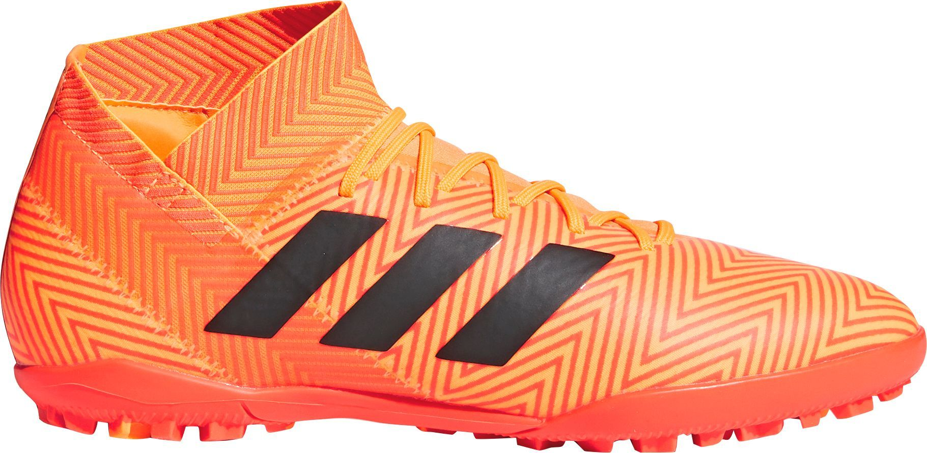 promo code 13e37 007cd adidas Men s Nemeziz Tango 18.3 Turf Soccer Cleats, Size  13.0, Orange