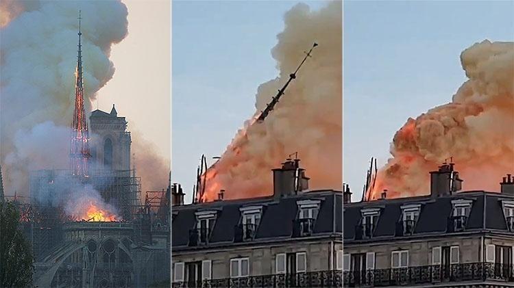 Incendio Na Catedral De Notre Dame Ja Dura 3h E Parte Da