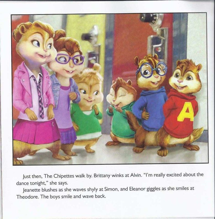 Its a page of the new Book: Alvin and the chipmunks: A chipmunks ...