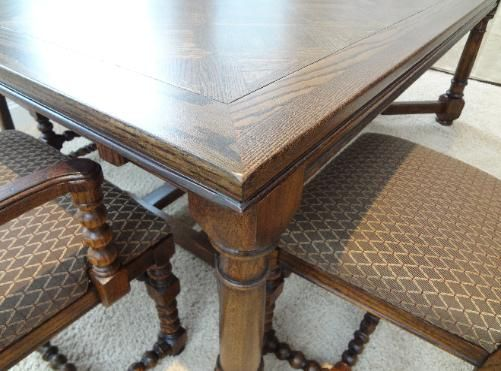 After Photo Of Refinished Wood Dining Table Forever New Refinishing Ocean County NJ