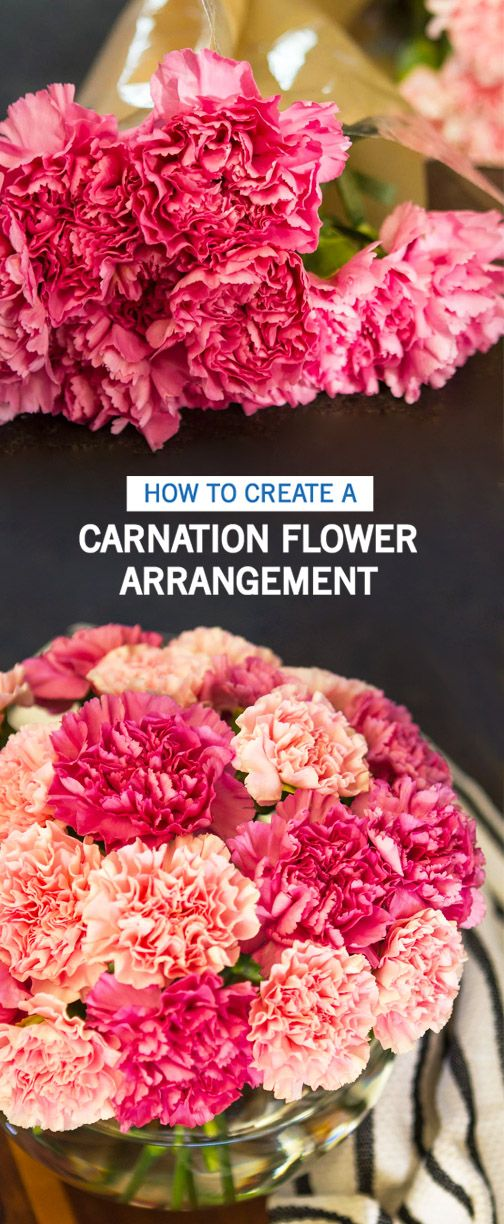 Freshen Up Your Home Just In Time For Valentine S Day With This Tutorial For How To Create A Carnation Flower A Carnation Flower Flower Arrangements Carnations