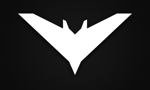 The Dark Night Rises Batman Chalk Logo By Goce Mitevski Via Behance