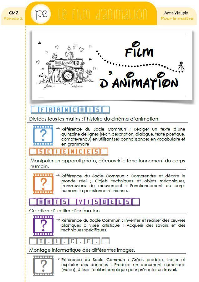 Créer Un Film D Animation : créer, animation, Projet, Pluridisciplinaire], D'ANIMATION, (français,, Visuels,, Tice...), Cycle, Orphéecole, Lessons, Kids,, Teacher, Hacks