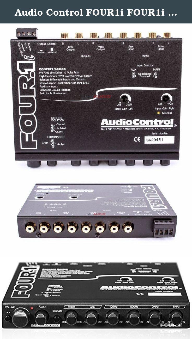Audio Control FOUR1i FOUR1i Set of. Audio Control