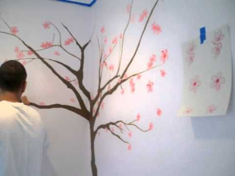 Japanese Cherry Blossoms Love This Tree S Shape Cherry Blossom Painting Cherry Blossom Pictures Blossom Trees