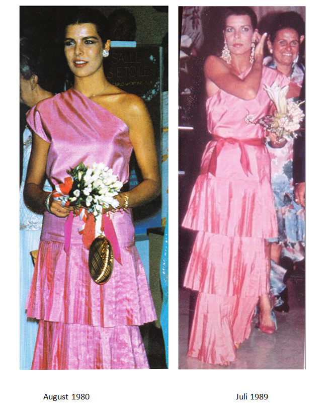 The same dress 1980 / 1989 | Royal Recycling and dress alike ...