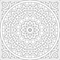 blank coloring page mandala by shala kerrigan posted on monday october 24 2011