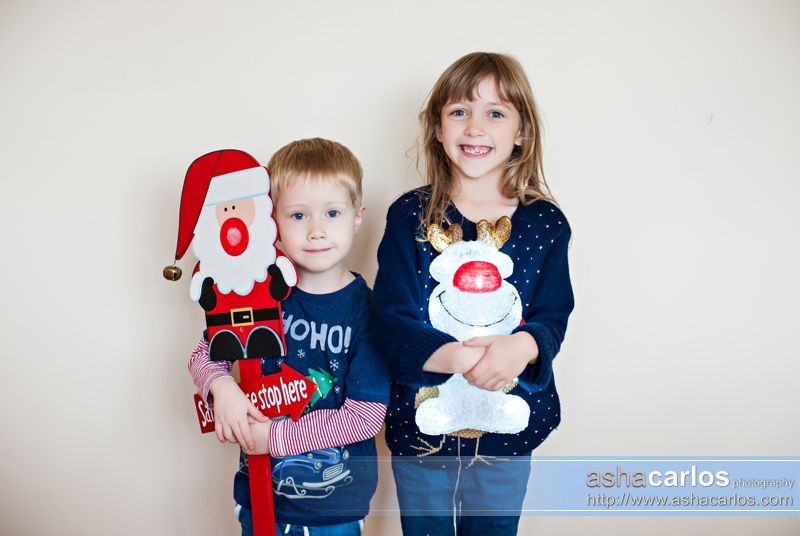 Christmas themed portrait session by Cheshire and Staffordshrie photographer - www.ashacarlos.com