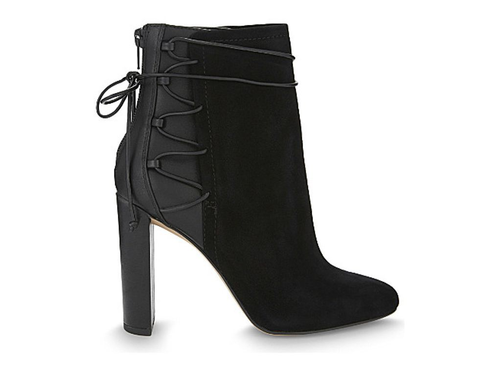 0bd36368acd ALDO Taessa suede and synthetic ankle boots | Women's Fashion in ...