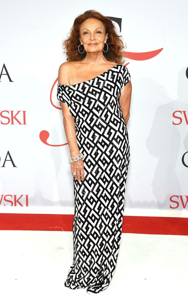 Diane Von Furstenberg at #CFDAAwards yesterday in NY!