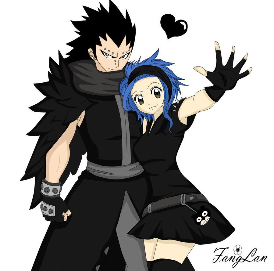 gajeel x levy  fairy tail