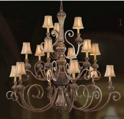 large villa chandelier classic design item 8043-6+6+3