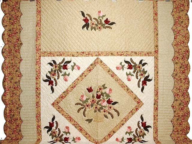 Victorian Basket Quilt Another Gorgeous Original Quilt