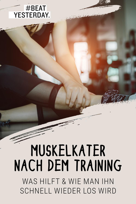 Muskelkater Schnell Loswerden