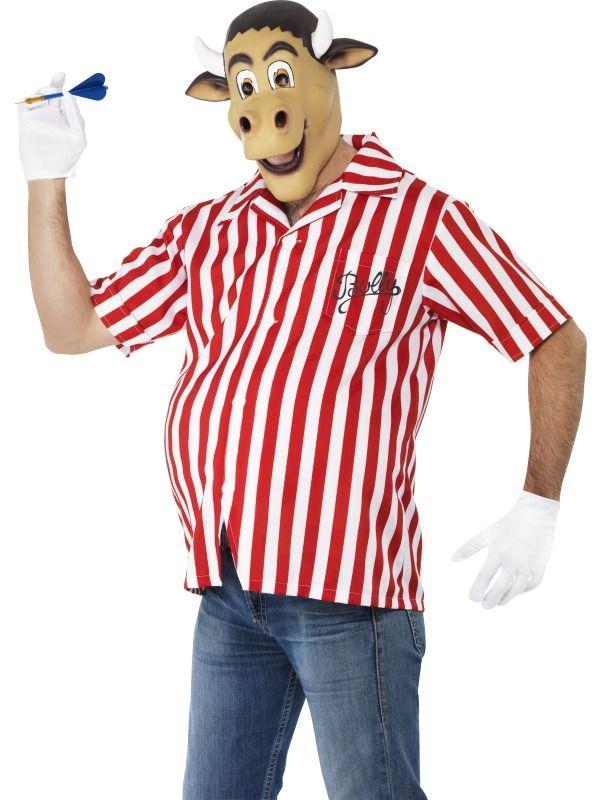 Adult Fancy Dress Dartboard Costume Darts Bullseye Mens Fun Outfit Stag Night