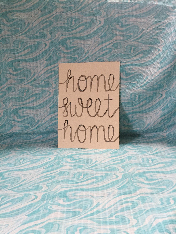 Home sweet inspirational decor wall art canvas also painting customizable rh fi pinterest