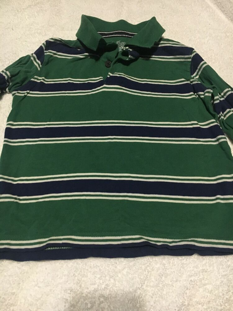 6e27186e9 TODDLER BOYS LONG SLEEVE POLO STYLE SHIRT THE CHILDRENS PLACE 3T  fashion   clothing