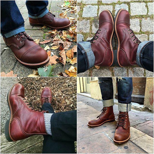 8119 Men's 6 Inch Iron Ranger Boots
