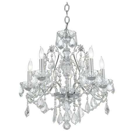 James R Moder New Orleans Crystal Chandelier - Style # 03767 - moder