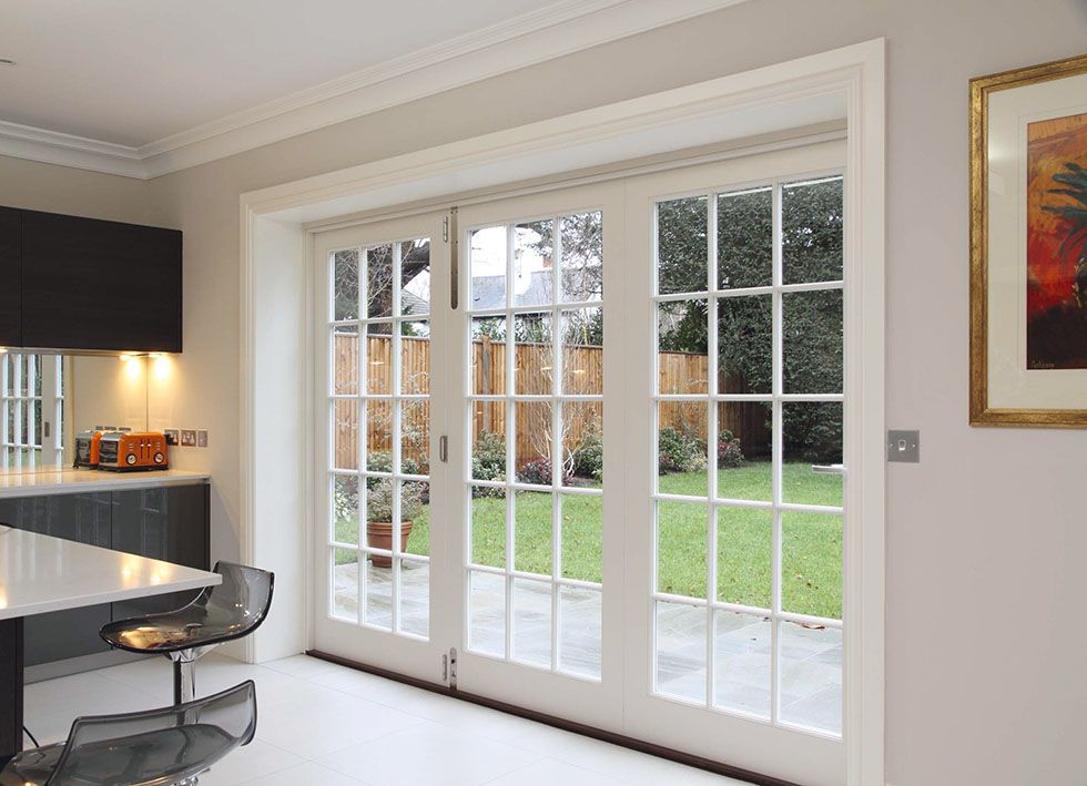 Lomax bifold door lomax and wood interior barn doors for Folding french patio doors