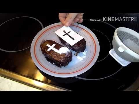 TUMBAS DE CHOCOLATE PARA HALLOWEEN SUPER FACIL - YouTube