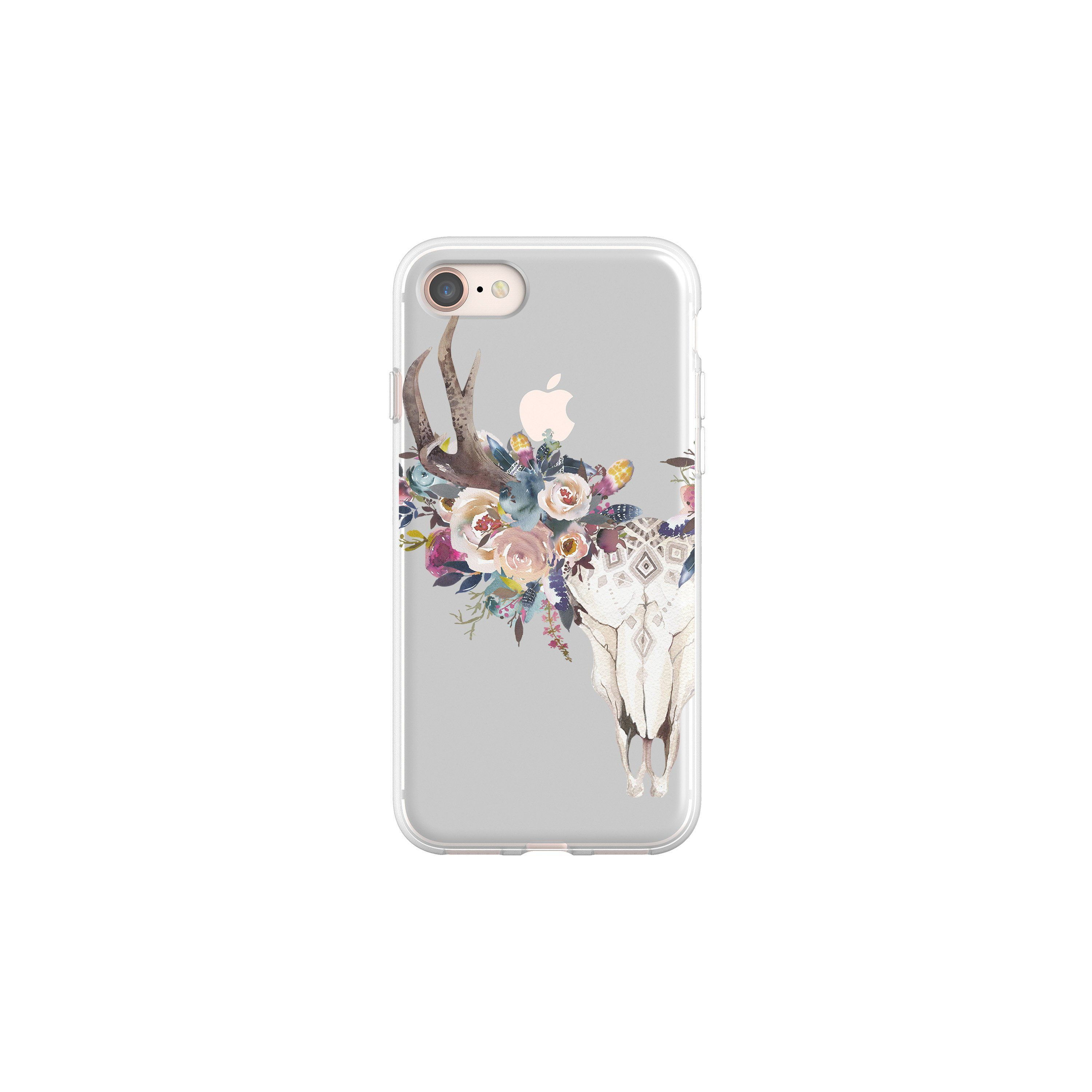 Boho Phone Case Feather Deer Skull Iphone 7 Plus Iphone 8 Iphone